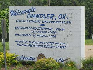 Welcome to Chandler, OK. | by programwitch
