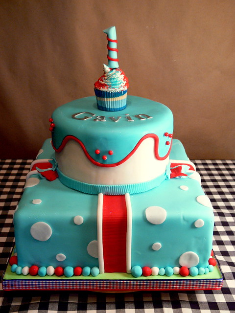 Boy's Vibrant Birthday Cake