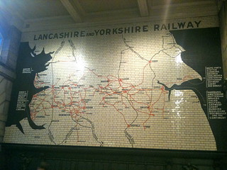 Lancashire and Yorkshire Railway Map | by James F Clay