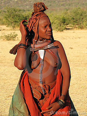 Himba woman - You can download it here -> http://bit.ly/c5SmuI
