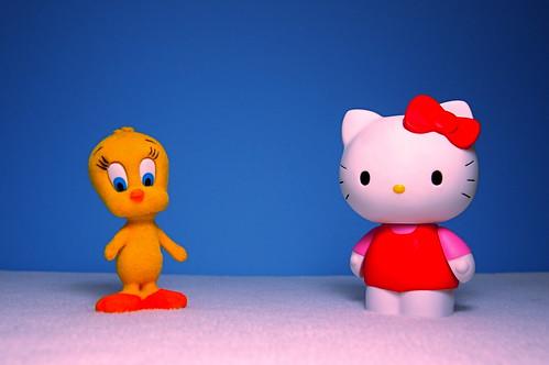 Tweety vs. Hello Kitty (17/365) | by JD Hancock
