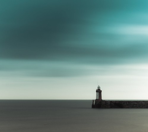 longexposure lighthouse clouds grey aqua minimal filters minimalist guernsey canon5014 nd110