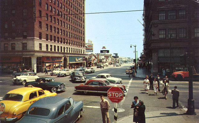 Hollywood and Vine early 1950s