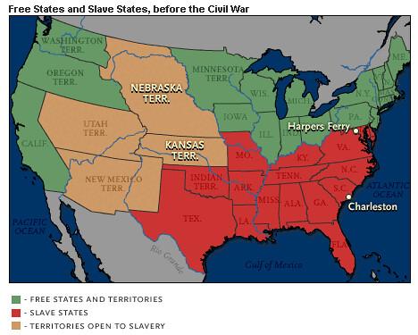 map of diversity in slavery | In early America slavery was l ...