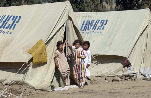 UN Refugee Agency Provides Shelter to Quake Victims | by United Nations Photo