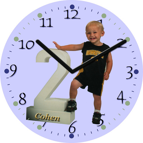 Cohen's 2 Clock | by customclockface