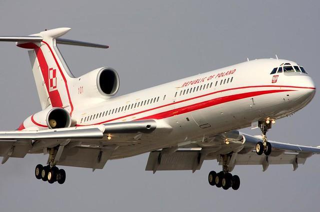 Poland Air Force Tupolev Tu-154M/crashed aircraft