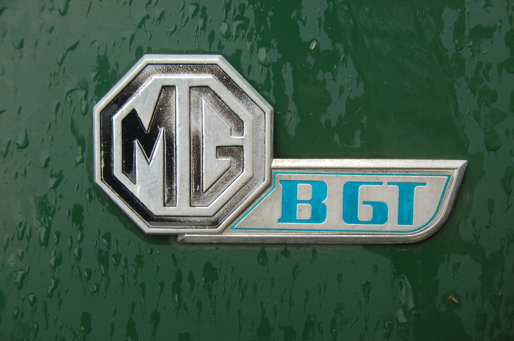 Mg Bgt Fastback Coupe In British Racing Green Chris Devers Flickr