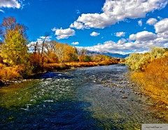 Arkansas River Salida CO   by Santa Fe -- Taos Fine Art Photography