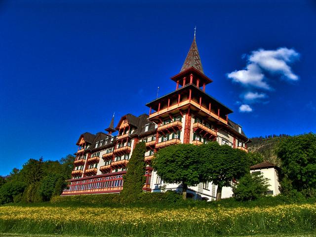 Das Jugendstil-Hotel Paxmontana