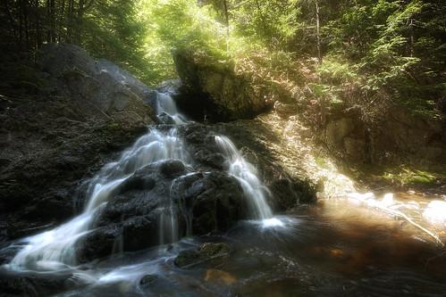 water photoshop canon landscape waterfall woods cascade bearsden ef1740f4l 40d