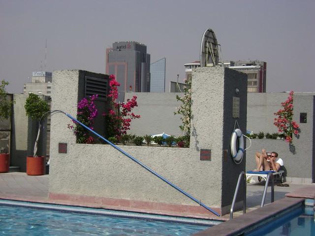 Piscina, Hotel Galería Plaza, Zona Rosa, Ciudad de México/Pool, Galeria Plaza Hotel, Mexico City - www.meEncantaViajar.com
