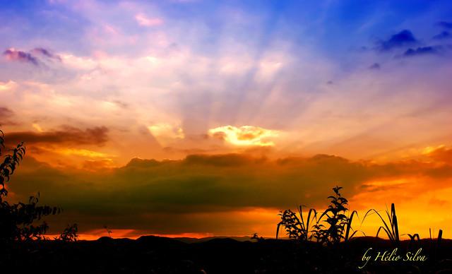 Por do Sol em Caieiras / Sunset in Caieiras