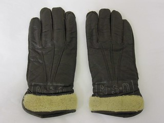 62-147-BI Gloves, Flight Nurse, Navy Nurse Corp | by Naval History & Heritage Command