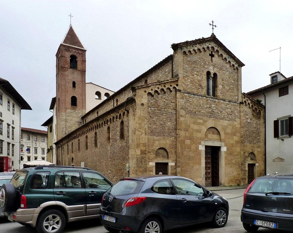 """Pisa - Chiesa di San Sisto   The """"Chiesa di San Sisto"""" was ..."""
