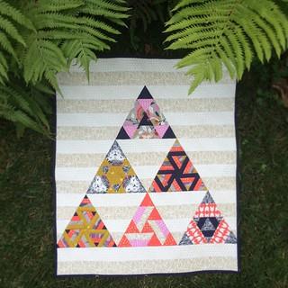 Eye Candy Quilts' Sierpinski's Wild Side