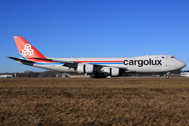 Cargolux  Boeing 747-8R7(F) LX-VCD