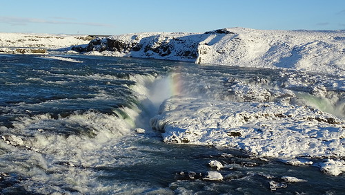 iceland islanda ice inspiredbyiceland winter sunrise sunset outdoors water waterfall nature travel landscape hills snow