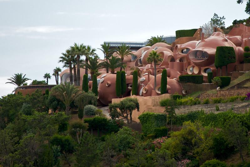 Le palais bulles de Antti Lovag à Théoule sur Mer
