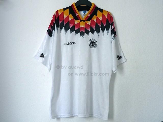 UNWORN 90`S VINTAGE ADIDAS WORLD CUP DFB SHIRT | original