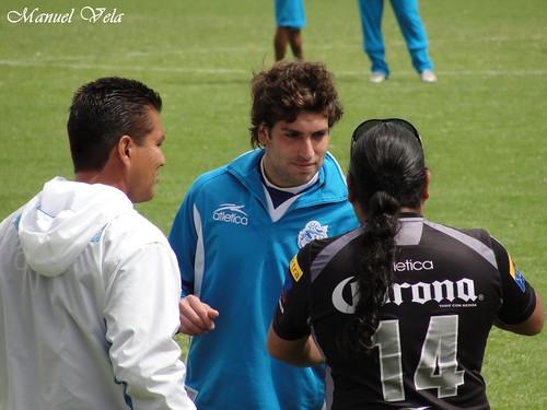 .Entrenamiento del equipo Puebla FC previo a su encuentro vs San Luis por LAE Manuel Vela