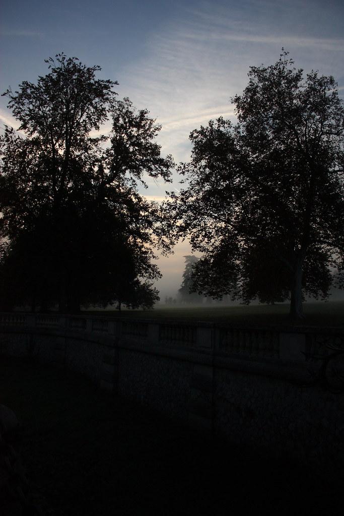 Parc du chateau de Rentilly