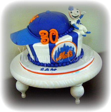Mets Birthday Cake For Sam