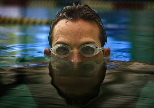 reflection water pool swim training goggles swimmer triathlon jasonlane workoutpartner