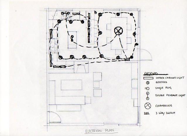 electrical plan and key amelia enge richard flickr. Black Bedroom Furniture Sets. Home Design Ideas