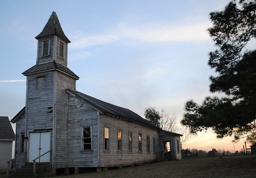 trees windows sunset church silhouette architecture reflections wooden texas steeple beautifulmemories pre1940 blackcommunitychurch dobbintx
