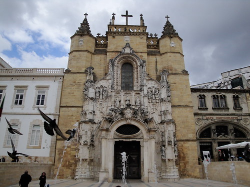 Church  of Santa Cruz, Coimbra, Portugal