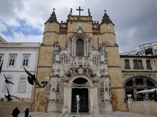 Church  of Santa Cruz, Coimbra, Portugal