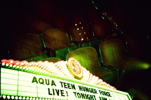 Aqua Teen Live! - LC-A+RL Fuji Sensia 400 iso Cross process … - Flickr
