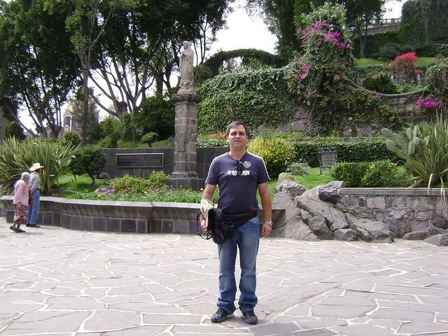 Jardín, Santuario de Guadalupe, El Tepeyac, Ciudad de México/Garden, Guadalupe, Tepeyac, Mexico City - www.meEncantaViajar.com