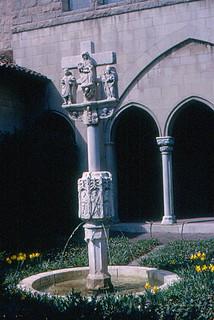 The Cloisters - Fountain