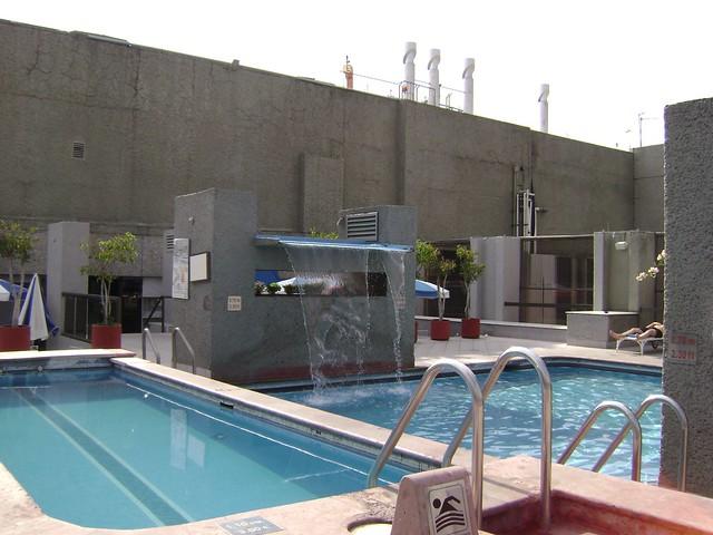 Piscina, Hotel Galería Plaza, Zona Rosa, Ciudad de México/Swimming Pool, Galeria Plaza Hotel, Mexico City - www.meEncantaViajar.com