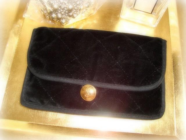 Yves Saint Laurent Vintage Make-up Bag