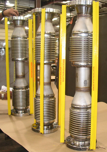 "3"" Diameter Universal Expansion Joints for a Power Plant Project in South Carolina"