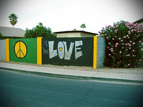 Peace Love and Flowers   by Ms. Phoenix