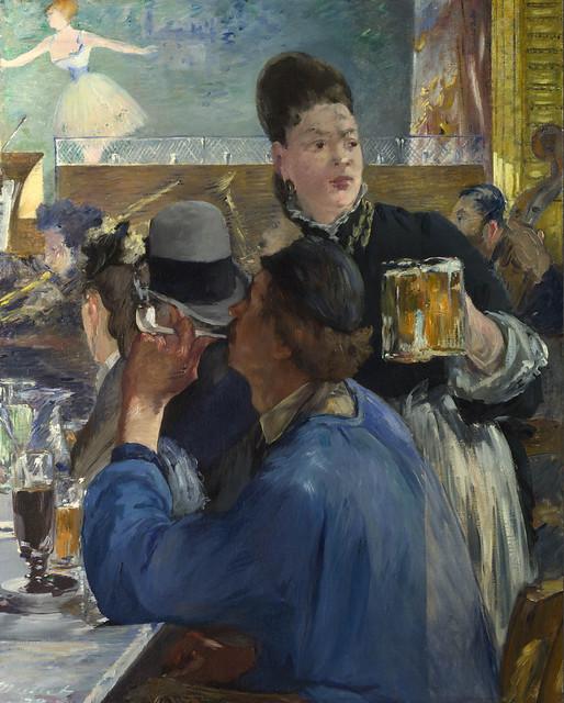 EM 1878-80 Corner of a Café-Concert - London, NG
