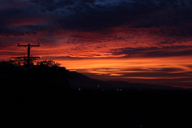 Sunset from Capitol Hill - Salt Lake City, Utah
