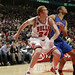 Brian Scalabrine fights for position