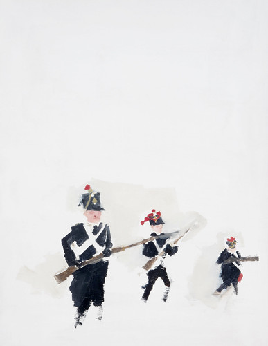 "Jennie Ottinger ""Soldiers (Scene from War and Peace)"""