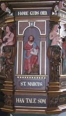 Prædikestol i Sædder Kirke - detalje2