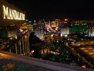 Looking North along Las Vegas Strip. House of Blues Foundation Room at Mandalay Bay, Las Vegas | by JoeDuck