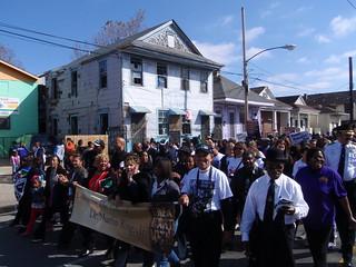 MLK parade on MLK   by anthonyturducken