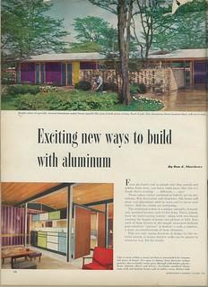 Rochester NY Alcoa Aluminum House