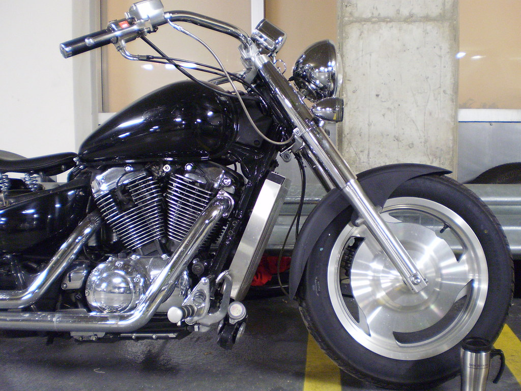 Honda Shadow Sabre 1100 Harley Wannabe Project Right Here Flickr
