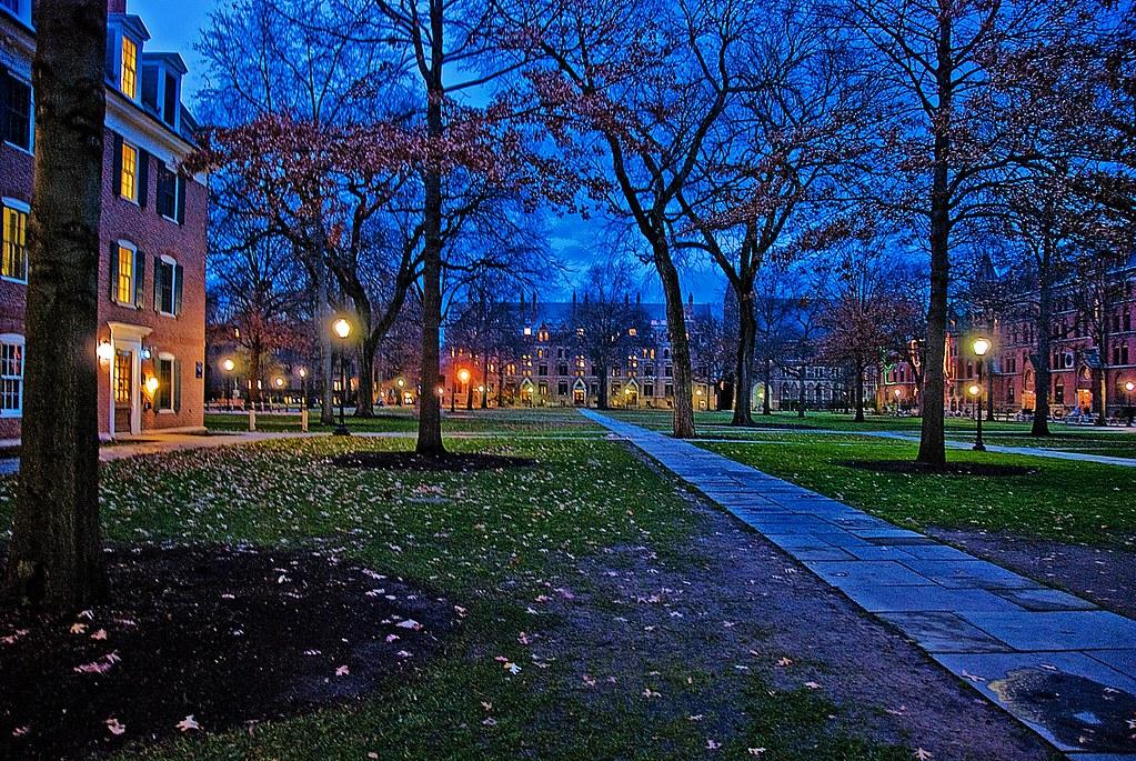 Yale In Fall