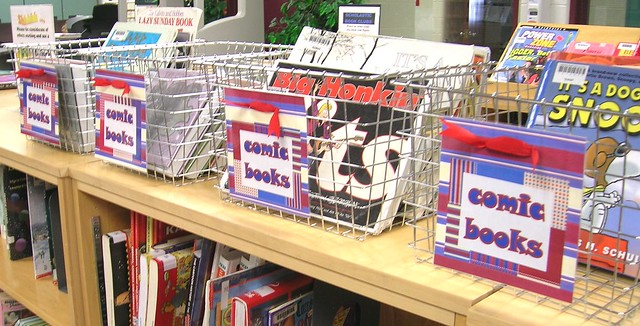 Comic Books Baskets